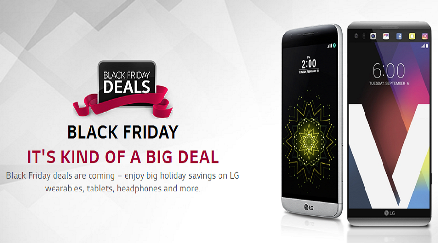 LG Black Friday Offers
