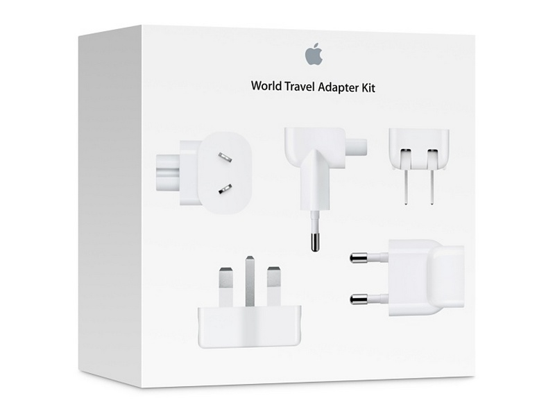 Apple Chargers - World Travel Adapter Kit