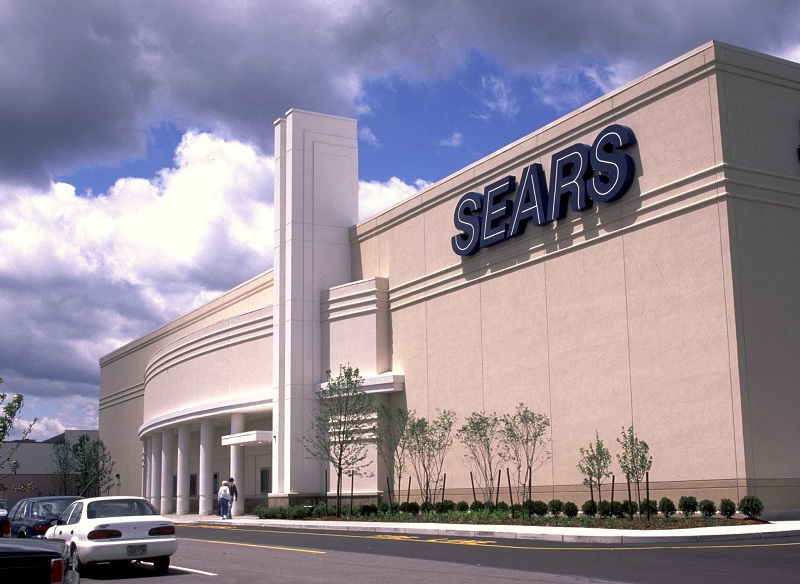 Sears Mall Exterior