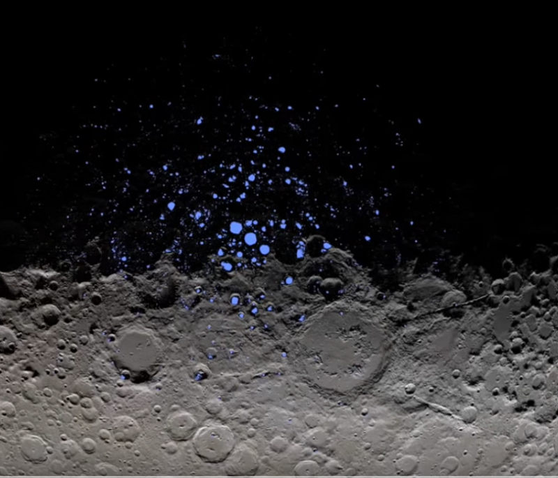 Water ice on Ceres, Pluto and Mars