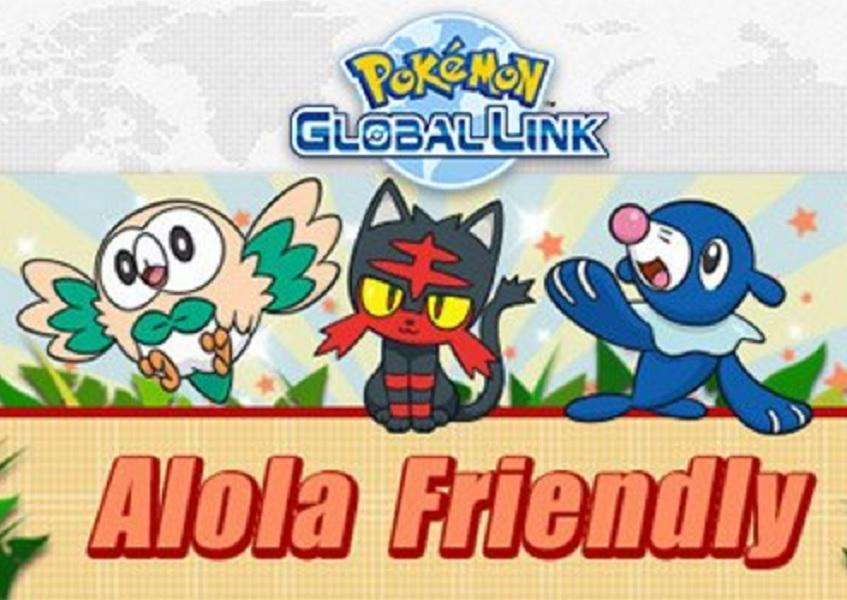 'Pokémon Sun' and 'Moon' Global Link