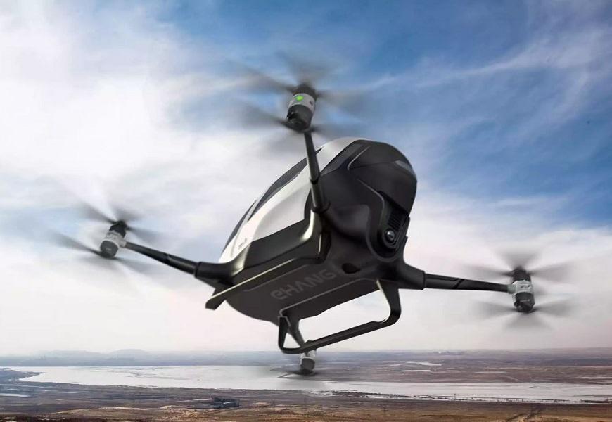 Dubai Flying Cars: EHang 184