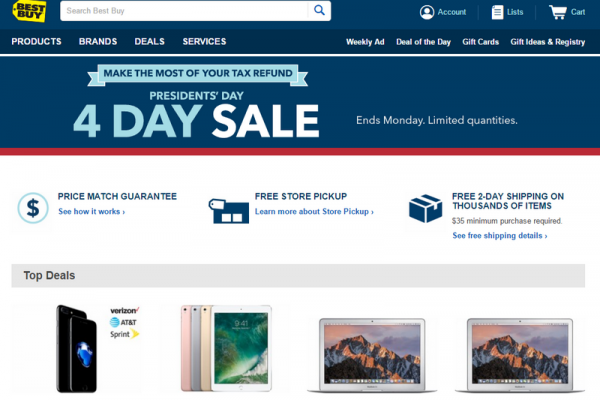 Best Buy President S Day Sale Discounts On Iphone 7 Android Smartphones And More Announced Tech Times