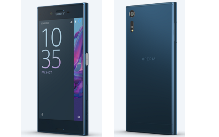 Sony Xperia XZ in Forest Blue