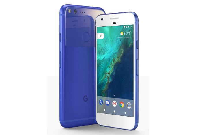Really Blue Google Pixel