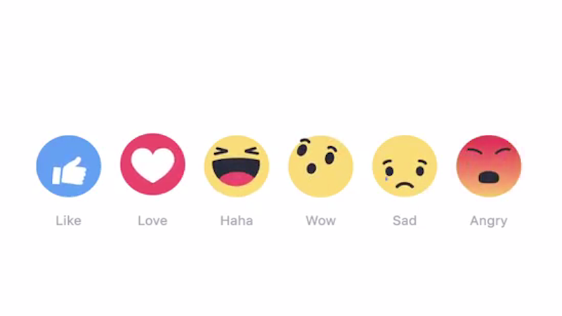 Facebook Users Shared 300 Billion Reactions In One Year