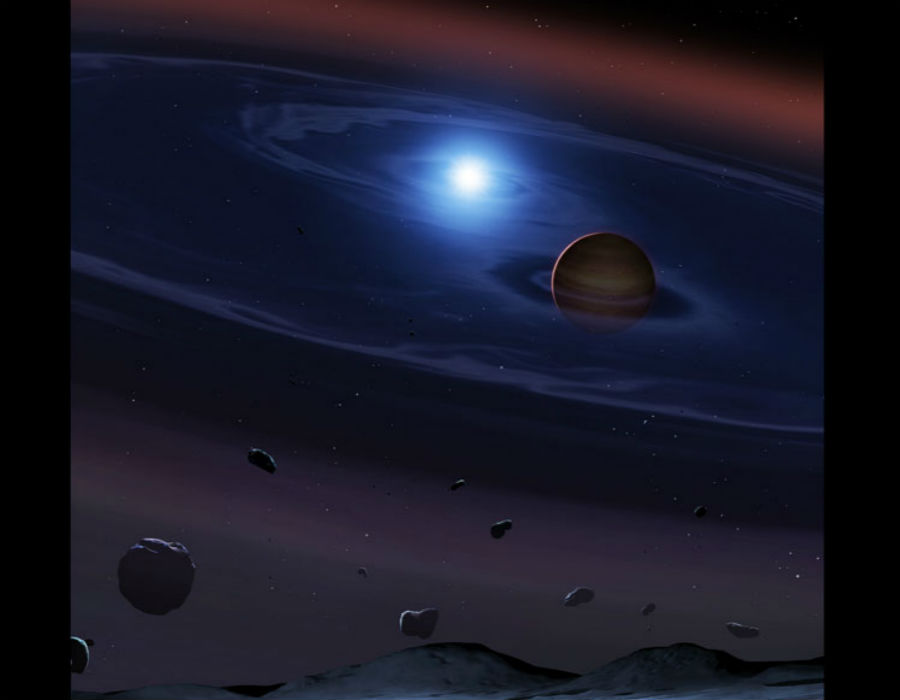 Tatooine system rocky asteroids