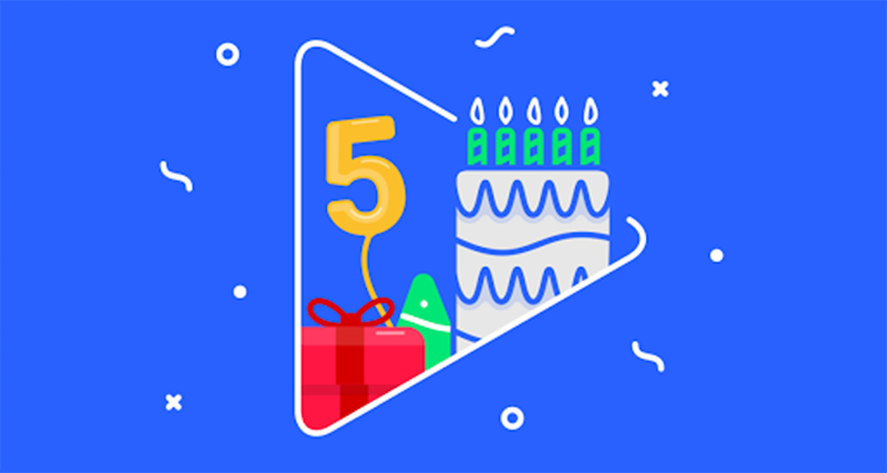 Google Play Turns Five: The Most Popular Downloads Include 'Candy Crush,' Facebook And Adele's '25'