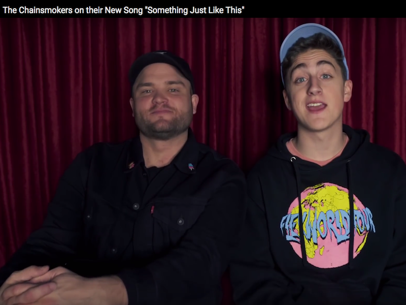 The Chainsmokers on their New Song