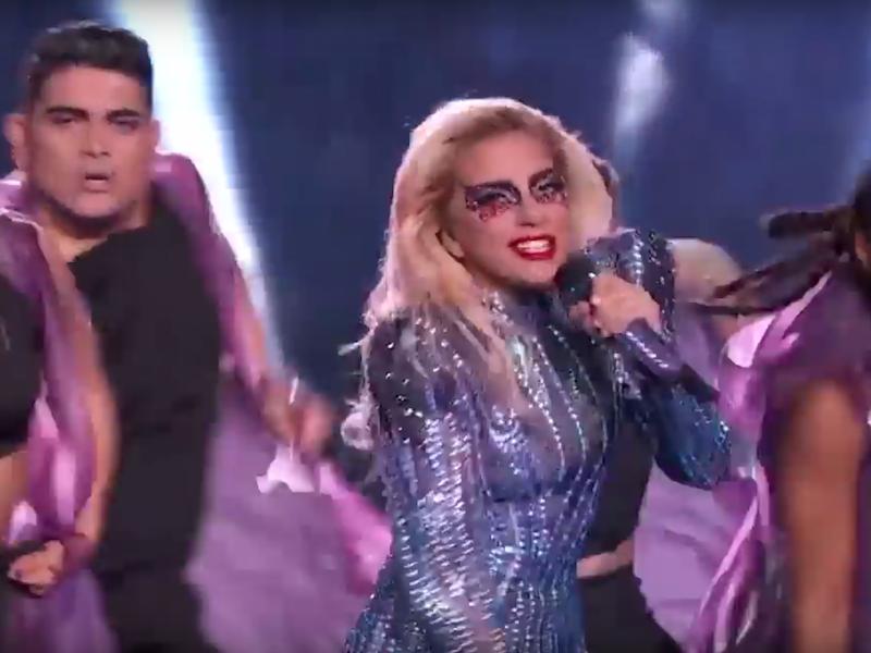 Lady Gaga Performing At Super Bowl 51