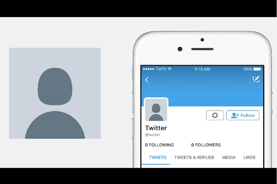 New Twitter Default Avatar