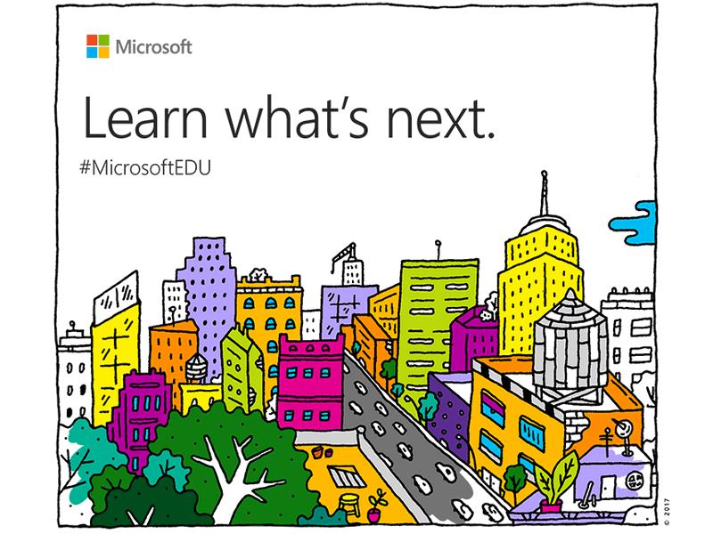 Microsoft Education Event Announcement