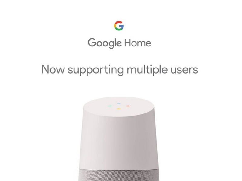 Google Home Gets Multi-User Support