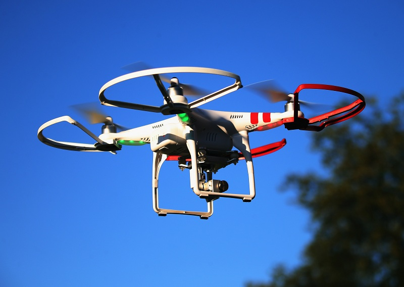 DJI drones had been used as weapons by terrorists, according to news.