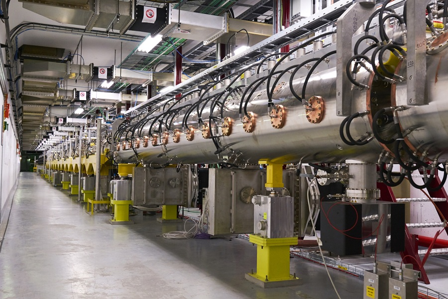 Linac 4 Particle Accelerator