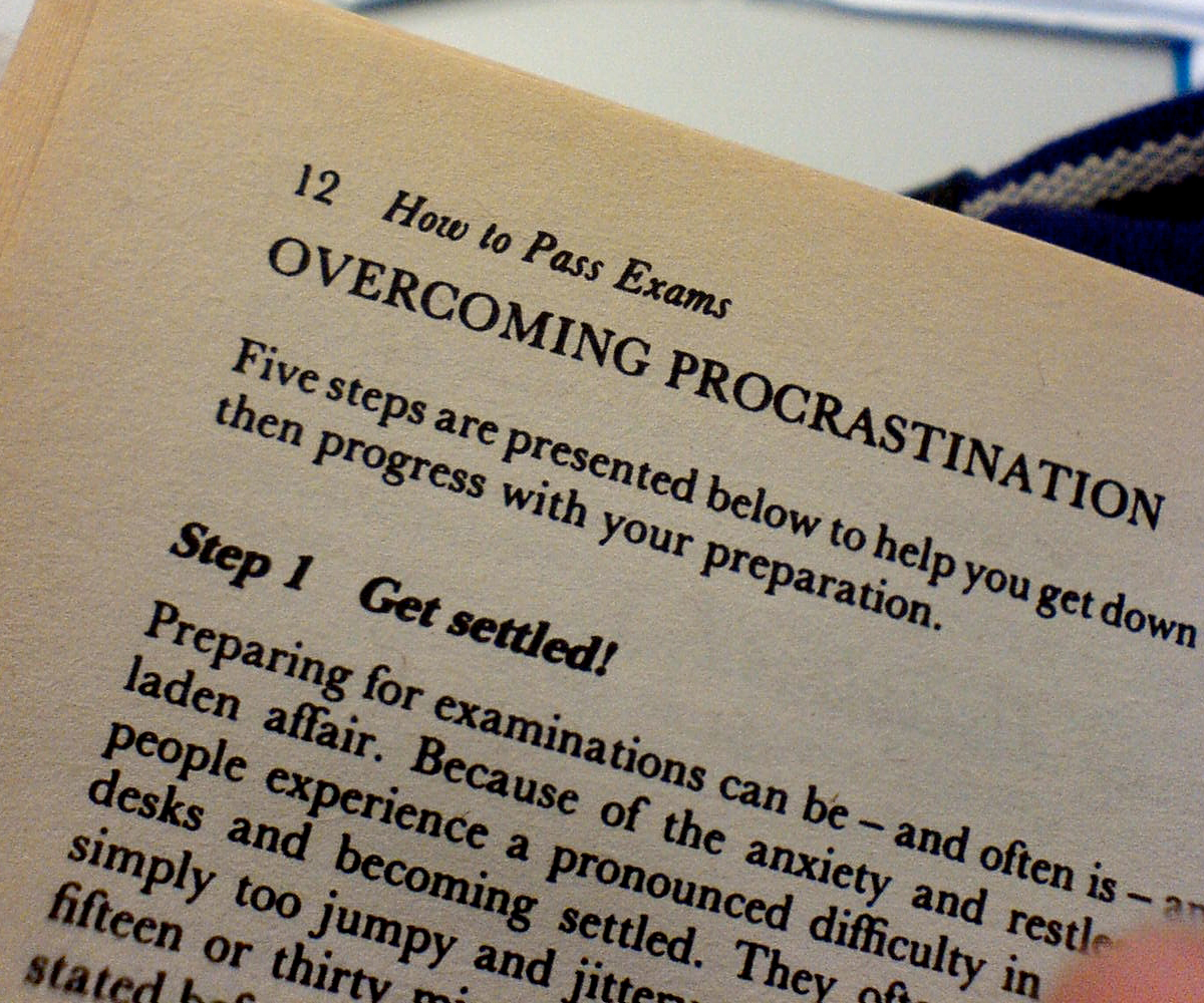 Book on How to Pass Exams