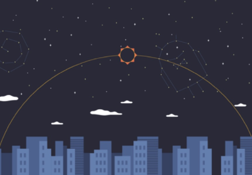 Android O Unveiling After Total Solar Eclipse