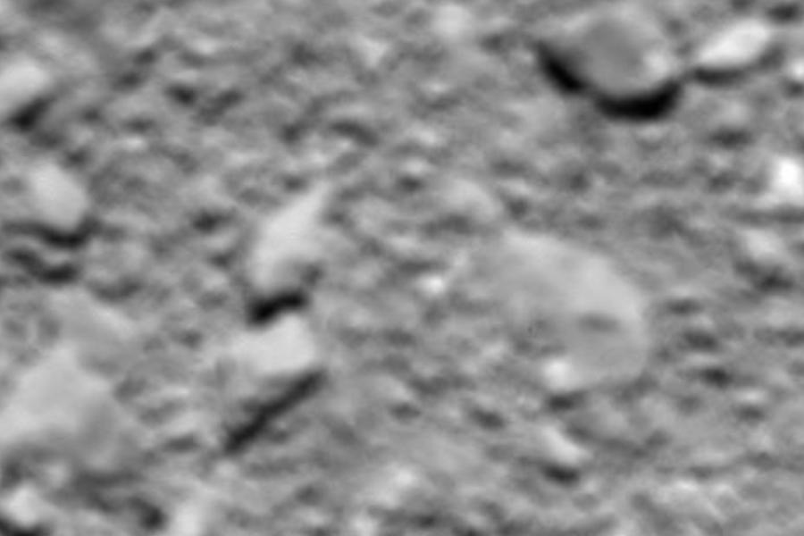 Rosetta Probe's Final Image