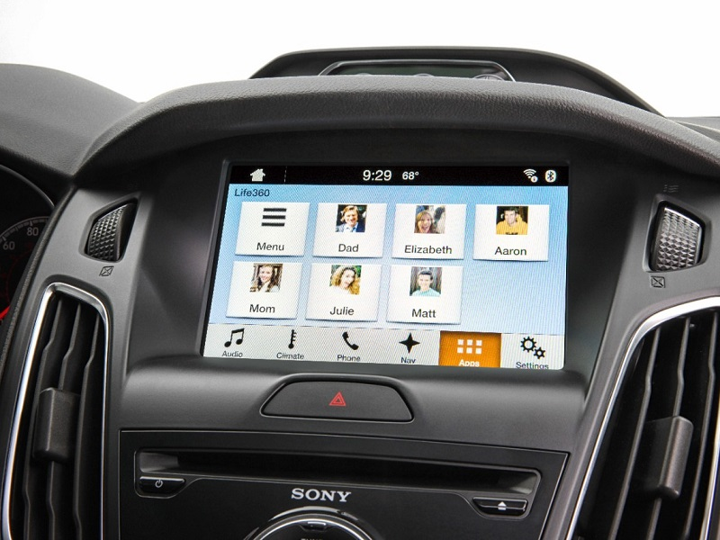 Ford SYNC AppLink and Life 360