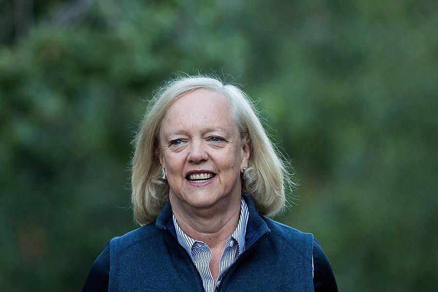 Hewlett-Packard Enterprise CEO Meg Whitman