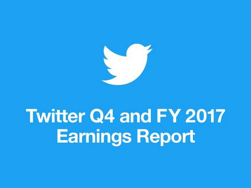 Twitter Q4 And FY 2017 Earnings Report
