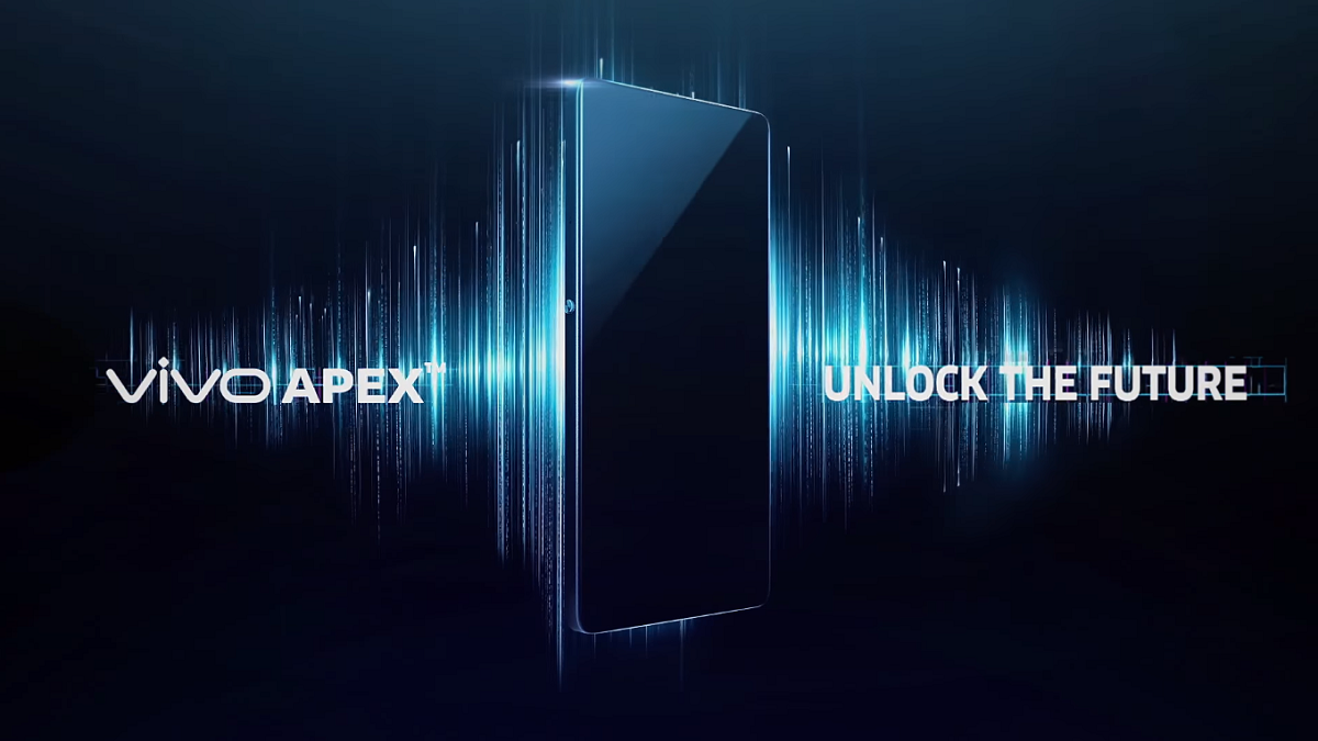 Vivo's Apex Has A Pop-Up Camera, Half-Screen Fingerprint Scanner, And Vibrating OLED Panels