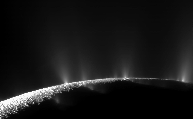 Enceladus Water Jets