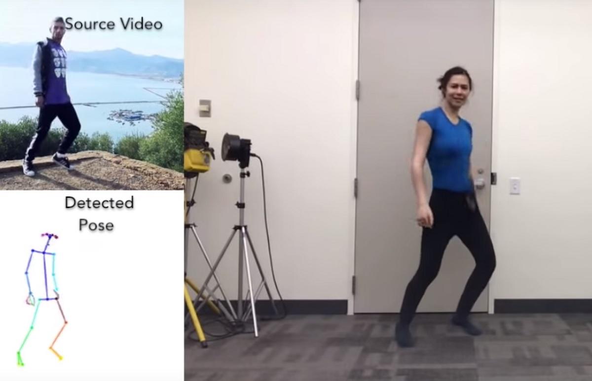 AI To Make People Look Like Dancers