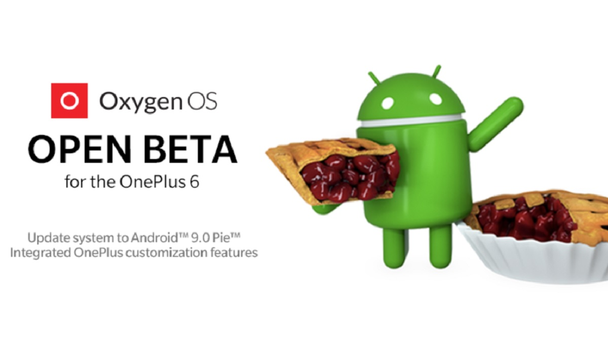 Android 9 Pie Open Beta For OnePlus 6