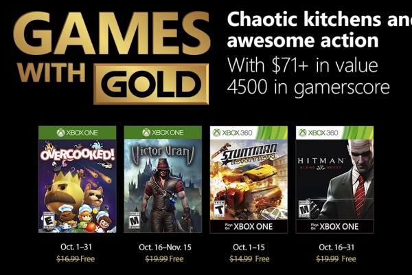 Xbox Games With Gold October 2020.Free Xbox Games With Gold For October 2018 Serve Food In