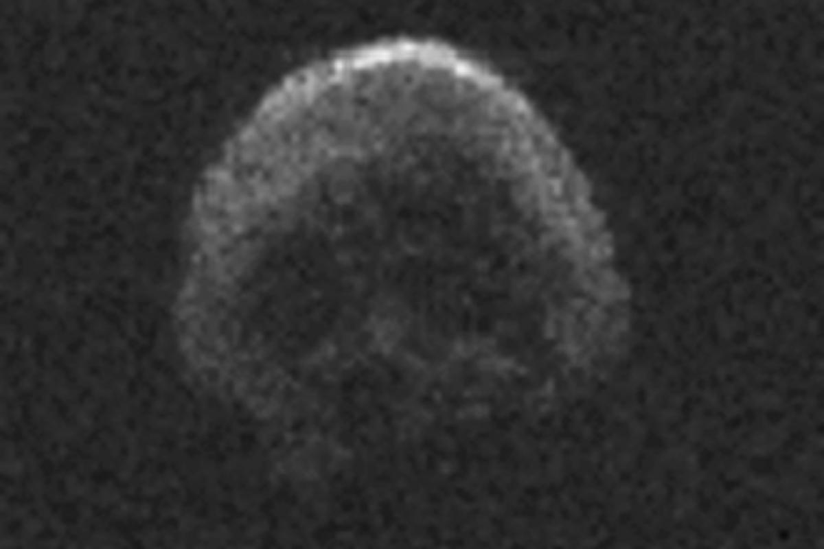 Halloween Skull Comet
