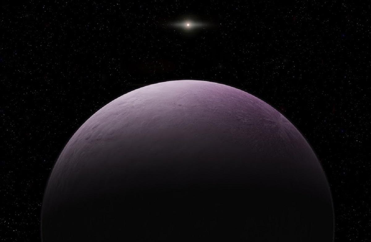 pink dwarf planet Farout is