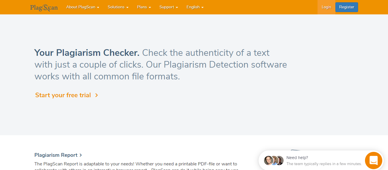The best online plagiarism checker