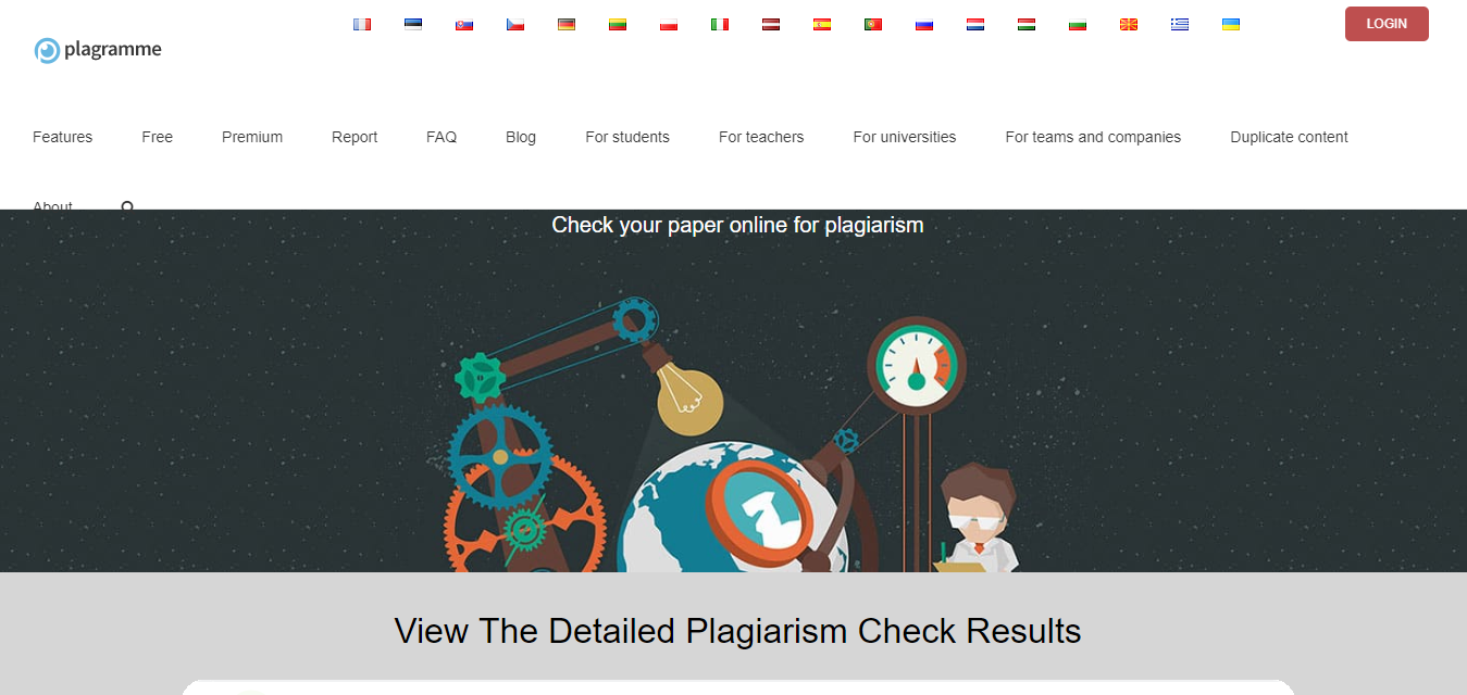 What is the best plagiarism detector site