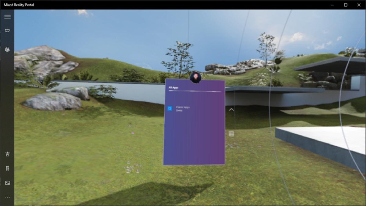 Windows 10 Build Desktop Apps in Windows Mixed Reality