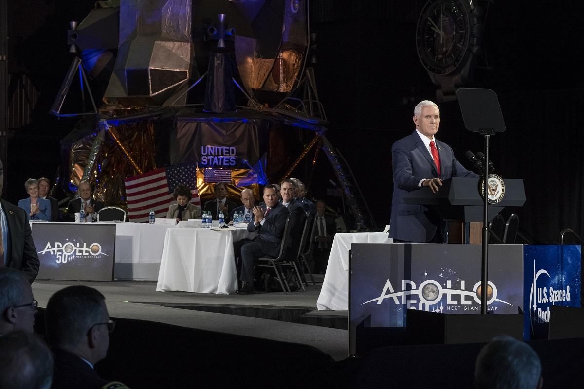 Mike Pence at NASA