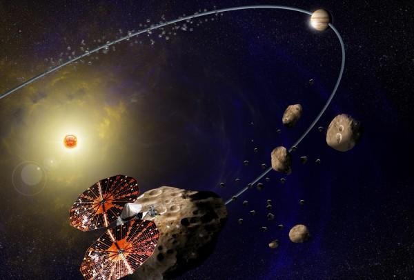 Jupiter Trojan asteroids