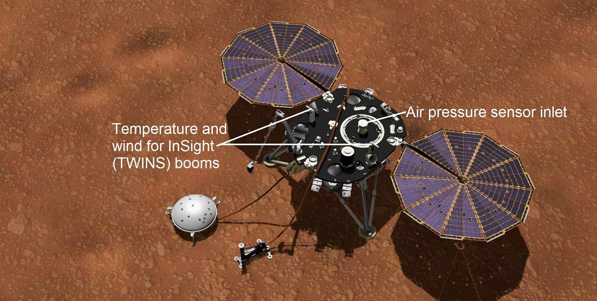 Mars InSight Collecting Weather Data