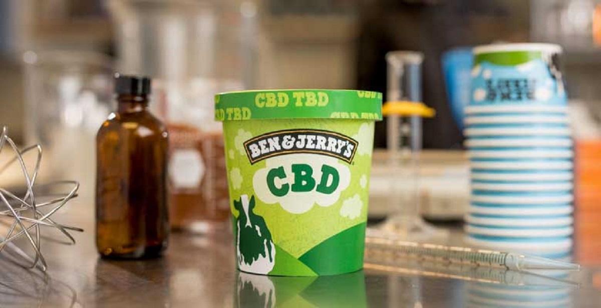 Ben & Jerry's CBD-Infused Ice Cream