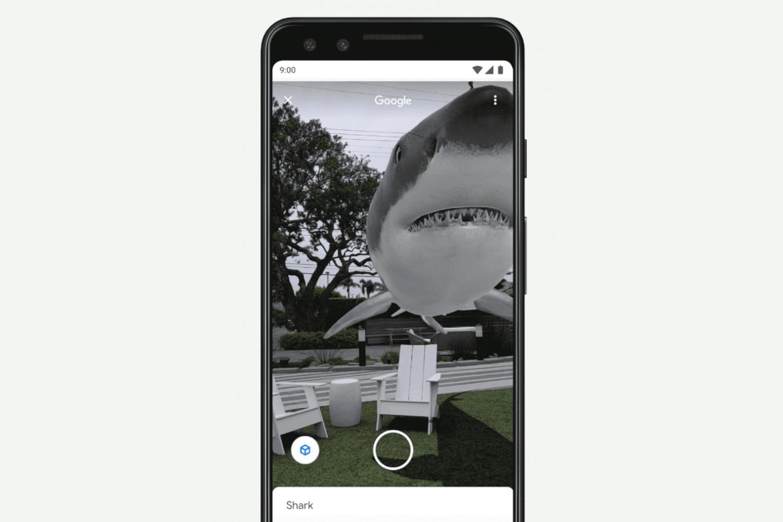 Google Search AR