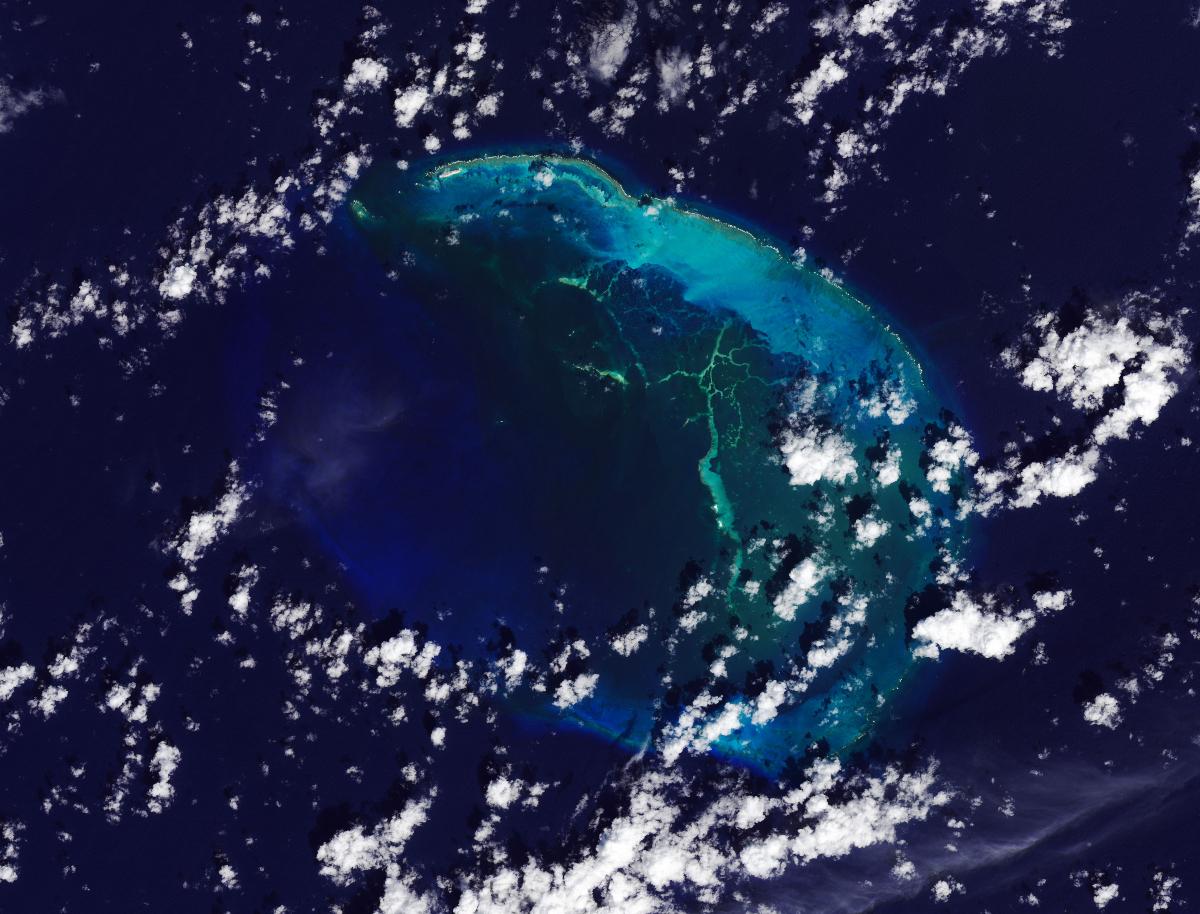 An Island Disappears