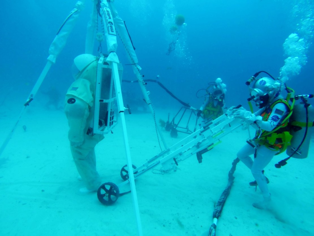 Lunar Evacuation System Assembly