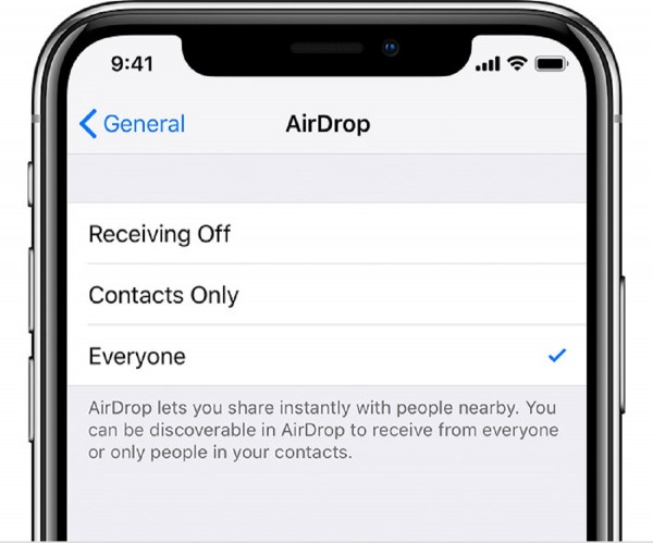 AirDrop Feature