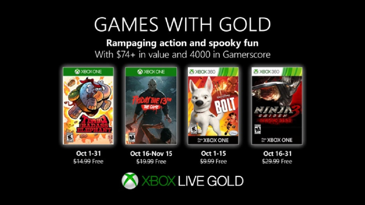 Xbox Live Games with Gold: Free Games for September 2020 ...