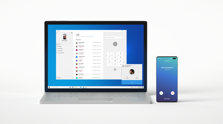 Windows 10 Your Phone App