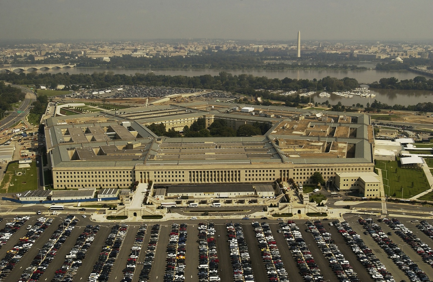 The Pentagon awards a $10-billion deal with Microsoft, which comes as a surprise to Amazon