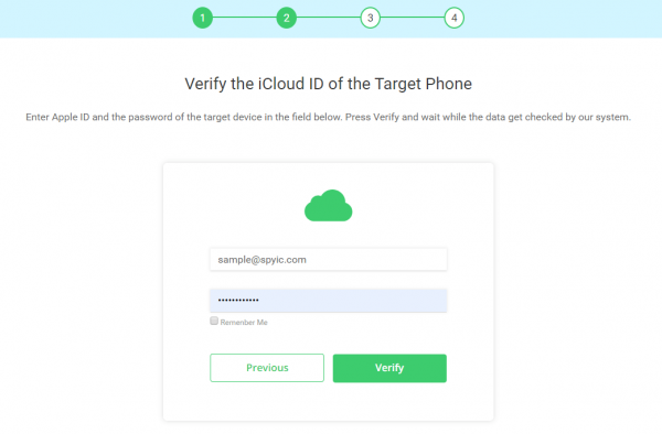https://clickfree.com/wp-content/uploads/2019/10/spyic-verify-icloud-id-guide.png