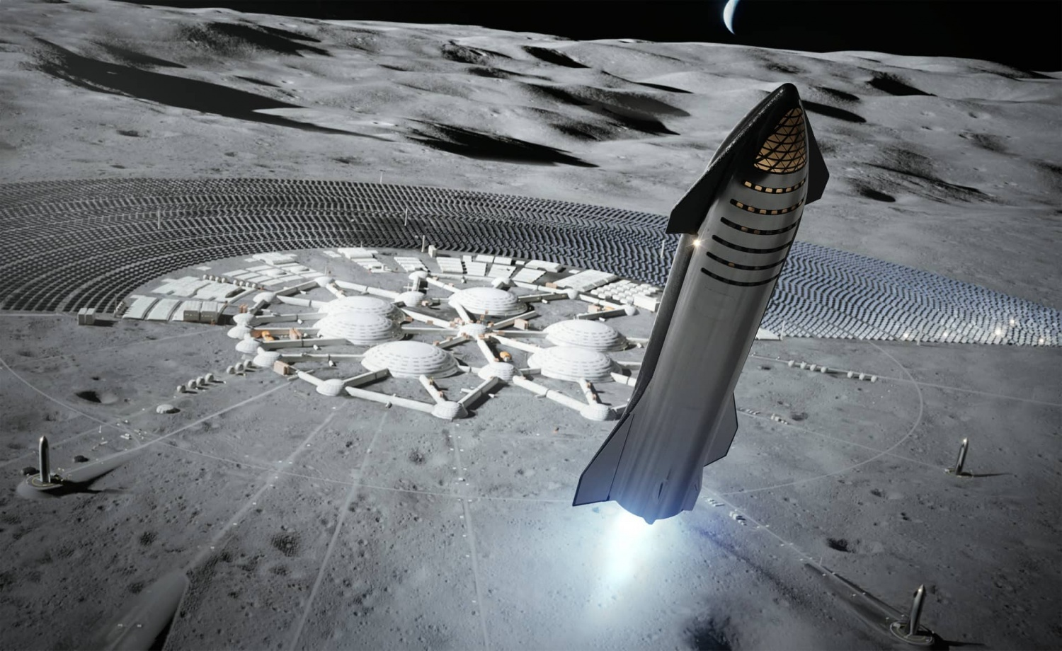 SpaceX is making plans to build moon colonies, but their MK1 Starship has failed during testing.