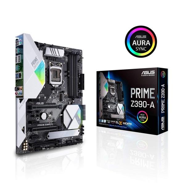 ASUS Prime Z390-A Motherboard LGA1151 ATX DDR4 DP