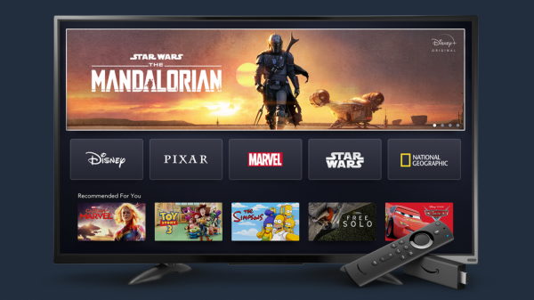 Disney+ Now Available on Fire TV